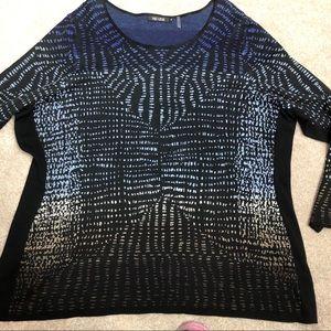 NIC + ZOE multicolor light sweater, new condition
